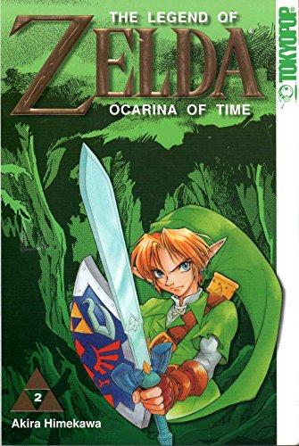 The Legend of ZELDA Manga Comic # 2: Ocarina of Time (Art.Nr.: 978-3-86719-713-7)
