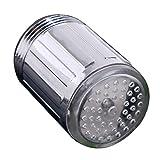 Wasser Hahn Licht LED bunte Wechsel Glühen Dusche Stream Adapter Color Tools Blau