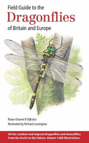 Field Guide to the Dragonflies of Britain and Europe by Dijkstra, Klaas-Douwe B (2006) Hardcover