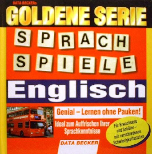 Goldene Serie : Sprachspiele Englisch - Genial Lernen ohne Pauken [CD-ROM]