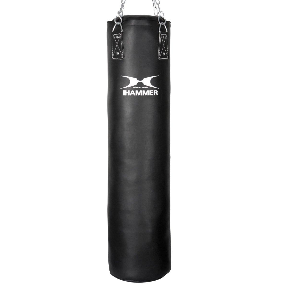 HAMMER BOXING Boxsack Premium Black Kick – Ideal für Box- und Kickbox-Training