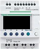 Schneider SR2B121FU Log. Modul Kompakt Zelio logic, 12 E/A, 100.240 V AC, Uhr, Display