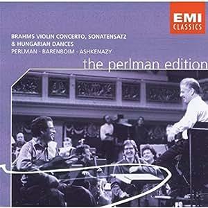 Violin Concerto/Sonata/Hungarian Dances (Perlman, Barenboim)