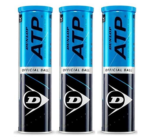 DUNLOP ATP Championship 12 bälles (3x4)