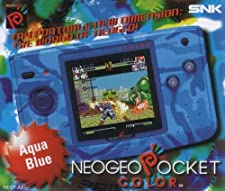 Console SNK Neo Geo Pocket Color - Couleur Aqua Blue