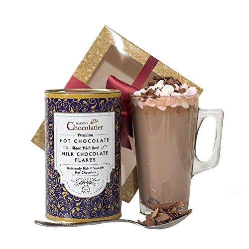 Heiße-Milch-Schokolade Geschenkset - Luxus-Schokoladen-Geschenkkörbe - Ideale Geschenk Für Schokoladenliebhaber