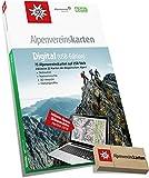 Produkt-Bild: Alpenvereinskarten Digital: Sämtliche Alpenvereinskarten der Ostalpen auf USB-Stick Version 4: 75 Alpenvereinskarten auf USB-Stick