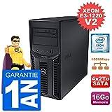 Dell Serveur PowerEdge T110 II Xeon QuadCore E3-1220 V2 16Go 4x2To Perc H200 SATA (Reconditionné Certifié)