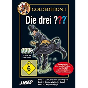 Die drei ??? – Gold Edition Band 1 – 3 – [PC/Mac]