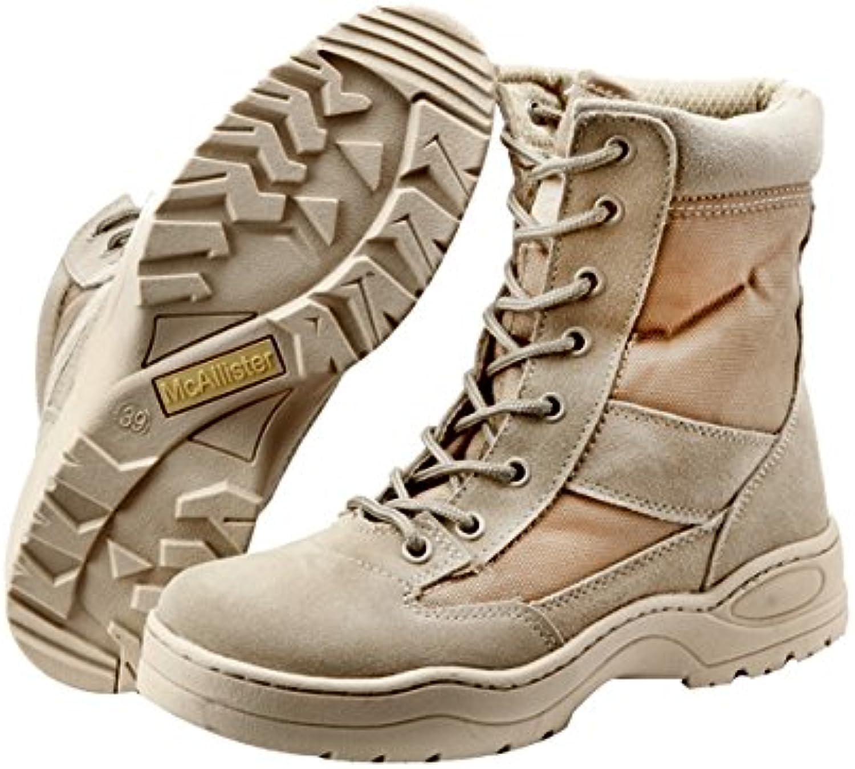 Classic Outdoor Boots Echt Leder beige