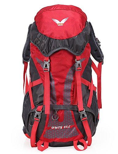 ZQ n/a L Rucksack Legere Sport / Reisen / Laufen Draußen / Leistung Wasserdicht / Multifunktions andere Nylon N/A Red