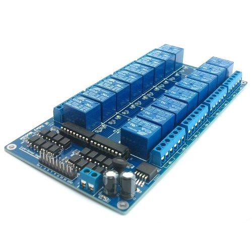dsp modul SainSmart 16-Kanäle RelaisModul Brett 12V Für Arduino PIC AVR DSP MCU Relay Module