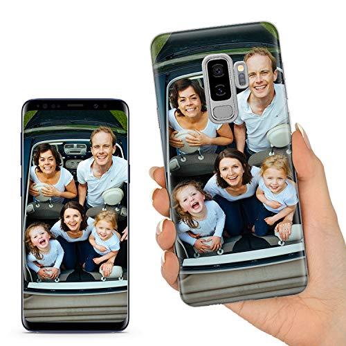 TULLUN Personalisierte Individuelle Ihr Eigenes Bild Foto Brauch Soft Gel Schutzhülle Handy Hülle für Samsung Galaxy Modelle - Ihr Eigenes Design - für Samsung Galaxy S9