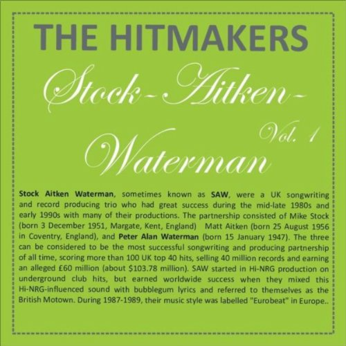 Hits of Stock, Aitken, Waterman, Vol. 1