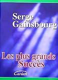 Serge Gainsbourg : Les Plus grands succès - chant + piano + accords