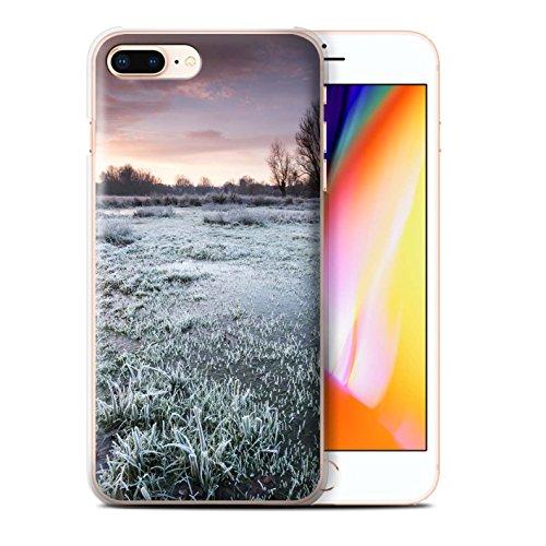 Stuff4 Hülle / Case für Apple iPhone 8 Plus / Pack 7pcs / Winter Saison Kollektion Sumpfland