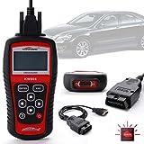 kiwitatá KW808 OBD2 Scanner Diagnostic Scan Tool EOBD OBDII Vehicles Car Fault Code Reader