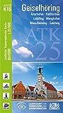 ATK25-K15 Geiselhöring (Amtliche Topographische Karte 1:25000): Aiterhofen, Feldkirchen, Leiblfing, Mengkofen, Moosthenning, Salching (ATK25 Amtliche Topographische Karte 1:25000 Bayern)