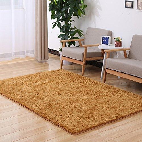 DT Weiche zeitgenössische Teppich Bodenmatte Lamm Fluff Wohnzimmer Schlafzimmer Deco Teppich Kann Waschen in 5 Größen erhältlich (Farbe : B, Größe : 1.6*2.5M) (Boden Lamm)