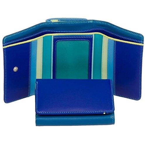 mywalit Medium Tri-fold Wallet Geldbörse Leder 11 cm seascape (Tri-fold Large Wallet)