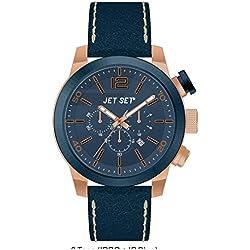 Jet Set Herren Chronograph Munich blau/roségoldfarben J6510R-367