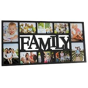 Jago portafoto cornice per foto multiple family colore for Cornici foto multiple