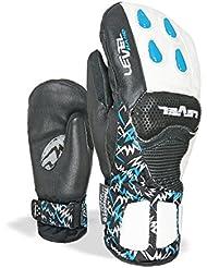 Level SQ Junior CF Mitt–Manoplas Esquí Racing, color azul, tamaño 12-14 años