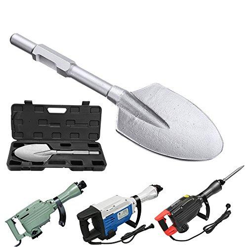 HELEISH 30x410x115mm Jack Hammer Tiped Spade Cutter Meißel Flachmeißel für 65/69 Hammer Zubehörwerkzeug