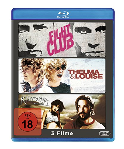 Brad Pitt Collection - Fight Club/Thelma & Louise/Kalifornia [Blu-ray] [3 DVDs]