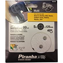 Piranha X32181-QZ, 125 mm, 80 g, per Quick Fit-Levigatrice orbitale a disco