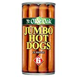 Ye Olde Oak Jumbo Hot Dogs Sausages in Brine 560 g