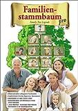 Familienstammbaum pro, 1 CD-ROM Family Tree Legends. Erfasst und ordnet umfangreiche Familiendaten. Erstellt & druckt Berichte, Diagramme, Stammbäume. Albumfunktion für Video, Sound & Bilder. Recherchefunktion und Anbindung an riesige