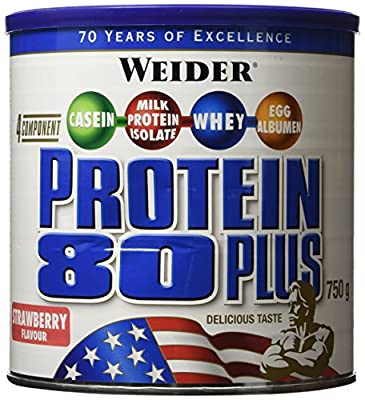 Weider Strawberry 750g Protein 80 Plus by Weider
