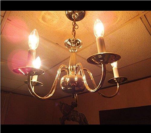 4 Pack 4w Led Filament Candelabra Bulb 40w Incandescent: Bonlux LED Bulbs