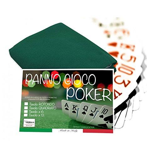 Mantel juegos cartas como póquer proteger