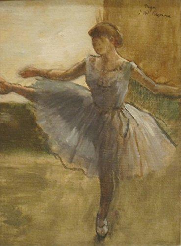Edgar Degas - Ballerina - Medium - Matte - Black Frame
