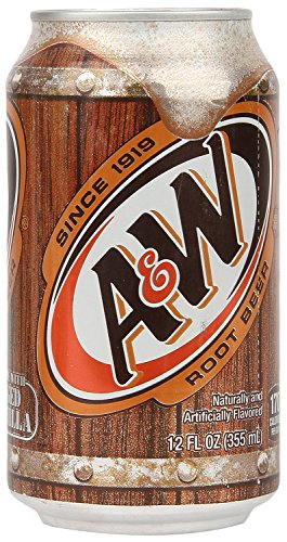 A & W Root Beer 24 Dosen