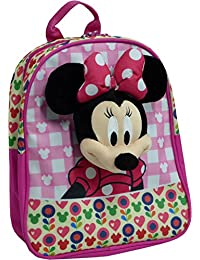 Disney Mochila Minnie PARLANCHINA GRABA Y Repite TU Voz 28X25X10 CM