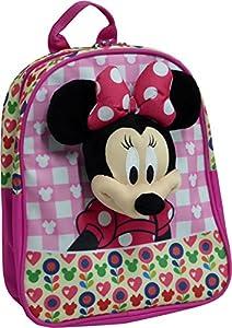 Toy Bags Mochila Infantil Minnie Mouse 033/Mochila Disney Minnie Mouse Talking Mickey Parlanchín