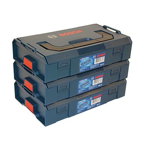 Preisvergleich Produktbild 3x Bosch L-BOXX Mini Professional leer - 1600A007SF
