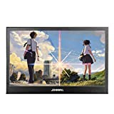 JOHNWILL portable monitor IPS Screen Full HD 1920x1080 monitor portable ultra thin black