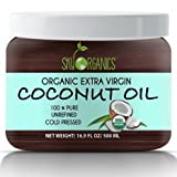 Best Oil For Psoriases - Organic Extra Virgin Coconut Oil by Sky Organics Review