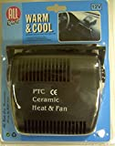 Unbekannt All Ride 12 Volt Ceramic Fan Heater For Cars Vans Caravans and Boats