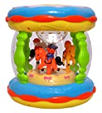 Toyshine Merry-Go-Round Drum with 3D Lights and Music