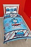 Character World Bettwäsche-Set, 91 cm, Einzelbett, Stil Thomas Adventure, wendbar, Mehrfarbig