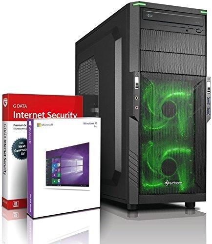 Gaming SSD / Multimedia COMPUTER mit 3 Jahren Garantie!   Quad-Core! AMD A10-8750 4 x 4000 MHz   16GB DDR3   128GB SSD   1000GB S-ATA III HDD   AMD Radeon R7000 4096 MB DVI/VGA mit DirectX11 Technology   USB3.0   22x DVD±R/RW   6 USB-Anschlüsse   Windows10 Professional 64 #5549