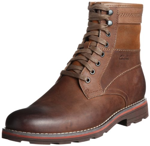 Clarks Naylor Herren Kurzschaft Stiefel Braun (Tan Leather)