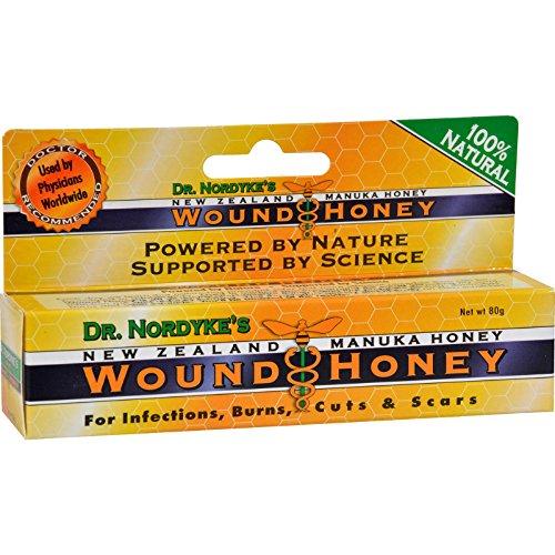 du Dr Nordyke Nouvelle-Zélande Manuka Honey, Wound Honey - Eras Sciences naturelles