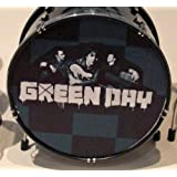 RGM323 día verde una batería en miniatura miniaturas de guitarra de Rock Billie Joe Armstrong Mike DIrnt Tre casebomb jasón White Dookie idiota americano Boulevard of Broken Dreams
