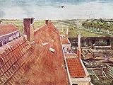 1art1 53499 Vincent Van Gogh - Dächer, Blick Vom Atelier